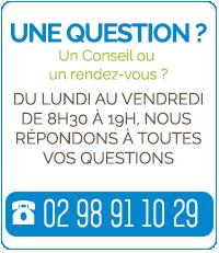 pour un devis, une question, contacter nous par téléphone