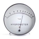 hygromètre pour tester le taux d'humidité dans la maison