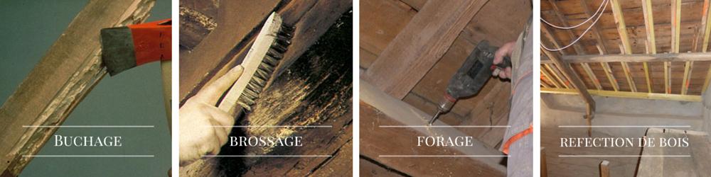 préparation des bois avant traitement