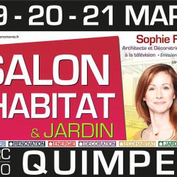 salon habitat et jardin Quimper mars 2016