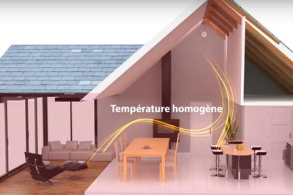 température homogene dans la maison