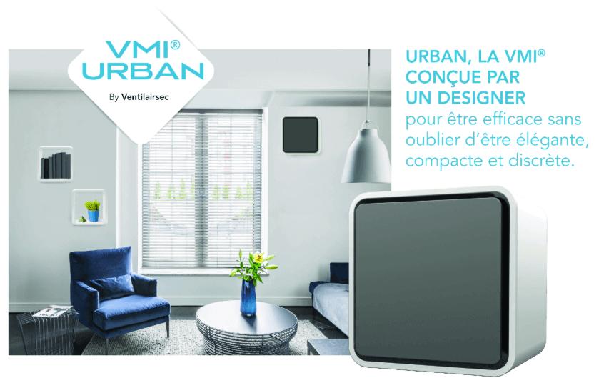 système de ventilation pour appartement innovant et design VMI Urban